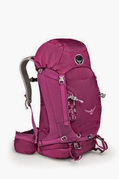 """OSPREY KYTE 46  ROSE RED  WXS-S - The women's specific Kyte 46 is the ultimate """"go anywhere, do anything"""" overnight pack.  Use if for everything from multi-day desert jaunt to an overnight hut trip."""
