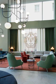 Hotel Barcelo Torre de Madrid is a modernist pearl. Designed by Jaime Hayon, it's a nod to Spanish cultural heritage.