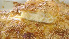 Τυρόπιτα με μακεδονική σφολιάτα της κας Άννας   TasteFULL.gr Greek Recipes, Finger Foods, Camembert Cheese, Banana Bread, French Toast, Food And Drink, Pizza, Sweets, Cooking
