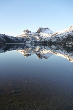 The spectacular World Heritage listed Cradle Mountain-Lake St. Clair National Park, one of Tasmania's premier wilderness regions