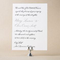 Betsy Wedding Invitation Design