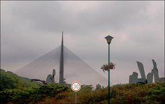 Βελιγράδι - Belgrade Cn Tower, Wind Turbine, Building, Travel, Viajes, Buildings, Destinations, Traveling, Trips