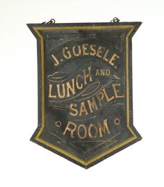 Garth's Auctions, Inc. - Auctioneers & Appraisers : Full Details for Lot 220 Antique Signs, Vintage Signs, Vintage Keys, Vintage Type, Vintage Advertising Signs, Vintage Advertisements, Pub Signs, Shop Signs, Wedding Branding