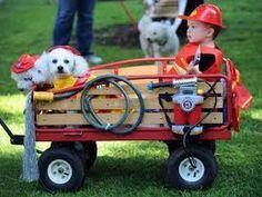 Wagon Firetruck