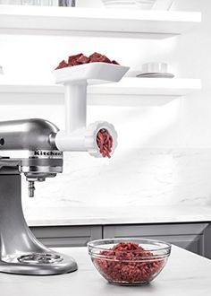 Amazon.com: KitchenAid FGA Food Grinder Attachment for Stand Mixers: Electric Stand Mixers: Kitchen & Dining