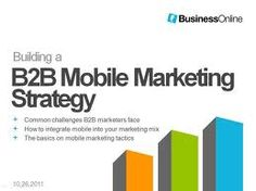 How to Build a B2B Mobile Marketing Strategy - Video