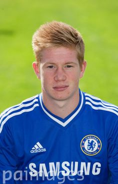 Kevin De Bruyne (15) - Chelsea Squad Photocall 2013/14
