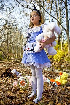 My Daughter as Alice in Wonderland.