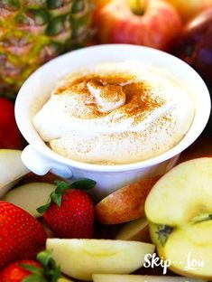 Rich and Creamy RumChata Fruit Dip