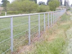 FENCE WITH CABLE | Cable fencing is a cost effective, super strong fence for Livestock or ...