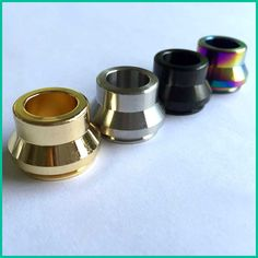 E-XY Vape drip tips Shooting  316 Stainless Steel Summit drip tip ss black Copper brass Colors fit 22mm RDA atomizers for vape #Affiliate