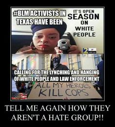 Of course black lives matter. because they're people. Just like any other race. All lives matter, including cops, because we're all people. Stupid People, We The People, Ignorant People, Evil People, Crazy People, Black People, Are You Serious, Liberal Logic, Liberal Left
