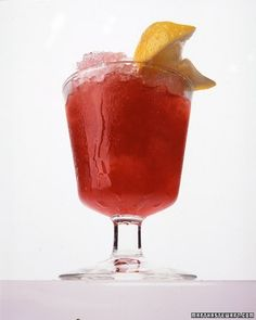 This refreshing rendition of iced tea is brewed from zesty hibiscus, which is made from coppery-red hibiscus leaves and is naturally caffeine free. Ginger syrup and fresh lemon juice add layers of flavor.