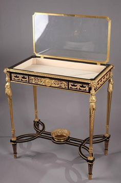 TASTE OF THE ROYAL COURT SALE | ... Case in Louis XVI Style and Adam Weisweiler Taste For Sale at 1stdibs