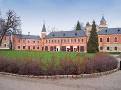 Sychrov Castle, Czech Republic. Composer Antonín Dvořák visited the castle several times and several of his works were inspired by its beauty. http://www.gct.com/Trips/2012/Old-World-Prague-and-the-Blue-Danube-2012.aspx #Sychrov #castle #CzechRepublic