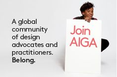 AIGA's membership structure is flexible: Whether you're an established designer looking to give back or a design student just starting out, you can choose the membership level that fits you best. Every designer has an affordable chance to contribute as a member. Belong to AIGA at a level that works for you!