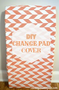 DIY Change Pad Cover