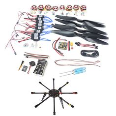 524.43$  Watch here - http://ali07p.worldwells.pw/go.php?t=32741119586 - F04765-B JMT DIY 8-Axle Unassembled RC Drone 1000mm Carbon Octocopter PX4 PIX M8N GPS RC Drone PNF Kit No Remote Battery FPV 524.43$