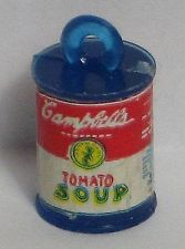 VINTAGE CAMPBELLS TOMATO SOUP GUMBALL CHARM