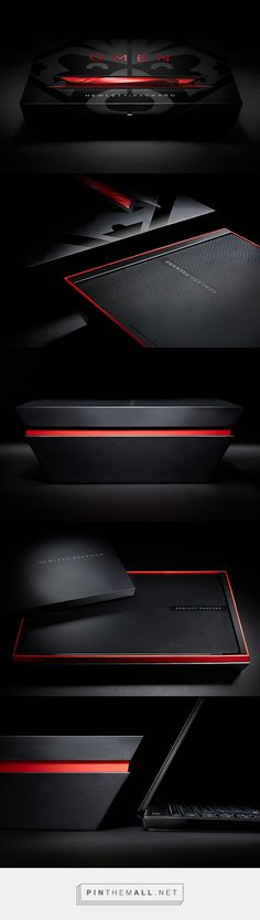 HP OMEN Global Laptop Packaging on Behance