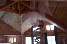 Bird Atrium Spray Foamed, Eco Comfort Spray Foam Insulation Niagara