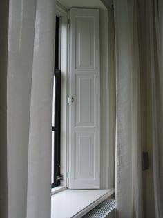 Lesser Seen Options for Custom Wood Interior Doors Interior Windows, Internal Wooden Doors, Interior Shutters, Windows And Doors, House Flooring, Doors Interior, Interior Window Shutters, Wood Doors Interior, Shaker Interior Doors