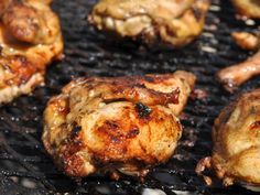 A recipe for Fireman's Chicken In Barbecue Sauce made with egg, white pepper, poultry seasoning, salt, oil, vinegar