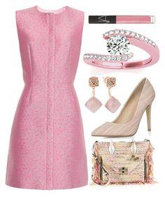"""Classy Pink"" by egordon2 ❤ liked on Polyvore featuring Balenciaga, Michael Kors, Diane Von Furstenberg, Dorothy Perkins, Allurez, NARS Cosmetics, Pink, pinksets, pinkoutfit and pinkset"