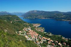 Orta Lake, located near Lago Maggiore