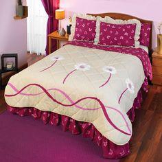 La colcha Florida de color beige con estampado vivos tiene un acabado extra suave. Florida es una colcha de lujo de Intima Hogar, por su impactante diseño hace que la habitación se vea hermosa y colorida. Color Beige, Bed Covers, Comforters, Bedding, Quilting, Blanket, Furniture, Home Decor, Colorful