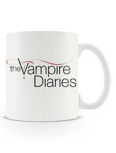 Caneca Vampire Diaries - Uma Loja de Caneca  #vampire #seriados #caneca