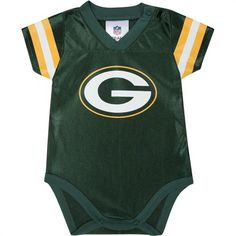 Green Bay Packers Newborn Baby Bodysuit-who do I know that is ...