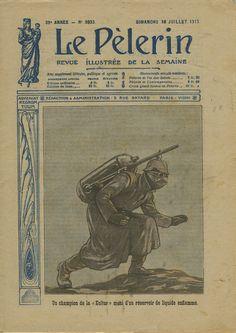 Champion de la «Kultur». Une du «Pèlerin», 18juillet1915.