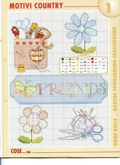 ru / Фото - The World of Cross Stitching 257 - tymannost Mini Cross Stitch, Cross Stitch Cards, Cross Stitch Flowers, Cross Stitching, Cross Stitch Embroidery, Embroidery Patterns, Funny Cross Stitch Patterns, Crochet Cross, Christmas Cross