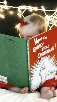 Holiday traditions: Read the babies a Christmas story every year on Christmas Eve