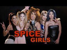 Spice Girls Halloween Makeup Tutorial 2016 - YouTube