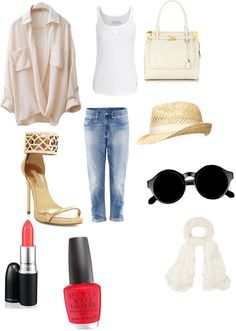 """""""taking a walk"""" by lizah18 ❤ liked on Polyvore"""