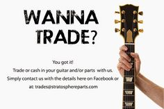 Trade your parts with us!