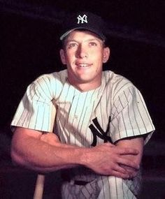 500 home runs in a historic career. Who hasn't heard of Micky Mantle?