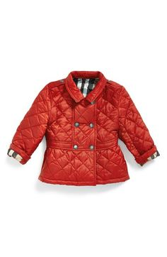 Adorable baby Burberry jacket for fall!
