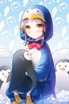 kawaii penguin suit