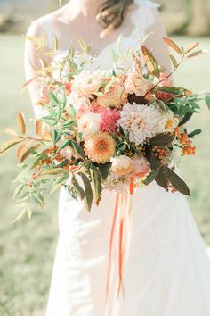 Gorgeous fall bouquet | Jillian Michelle