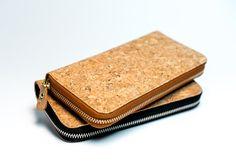 beautiful cork wallet <3