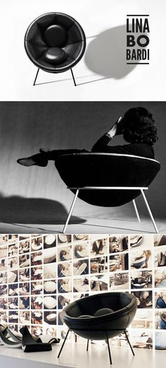 Bowl armchair by Lina Bo Bardi.#interior #design #furniture #casadevalentina