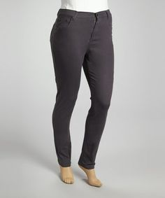 Another great find on #zulily! Steel Denim Skinny Jeans - Plus by Vigold #zulilyfinds