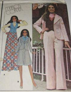 Vintage Pattern 1970s  Marlo Thomas  Marlo's by sybelladesigns, $5.00