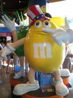 Yellow Peanut @ the M store.photo by Josie Hink