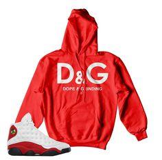 31ef410629c52f Hoody match Jordan 13 OG true red shoes to match 13 s sneaker colorway.  True red
