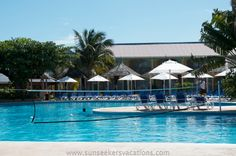 Gorgeous pool at Jewel Runaway Bay - pool volleyball anyone? #onelove