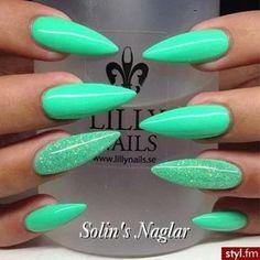 Gorgeous stiletto nails